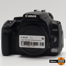 Canon Canon EOS 400D Spiegelreflexcamera Body   Nette staat