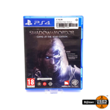 Playstation 4 Game: Shadow of Mordor Game of the year edition
