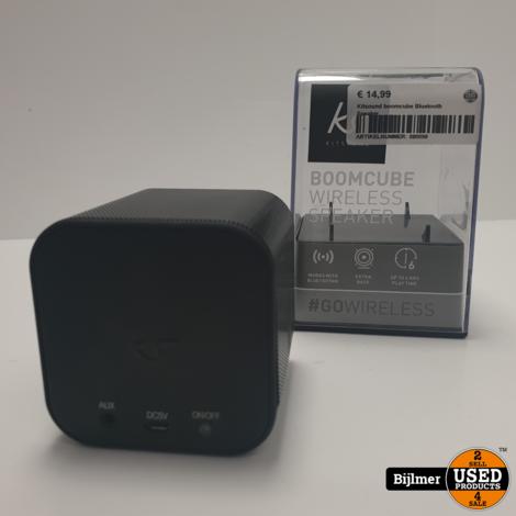 Kitsound boomcube Bluetooth Speaker
