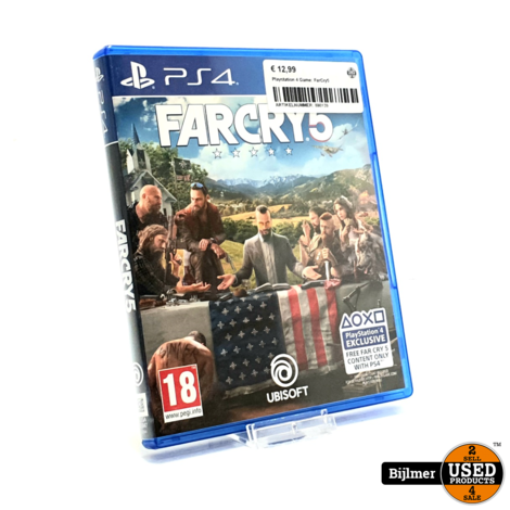 Playstation 4 Game: FarCry5