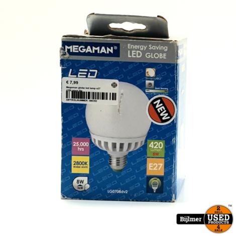 Megaman LED GLOBE E27 Ledlamp