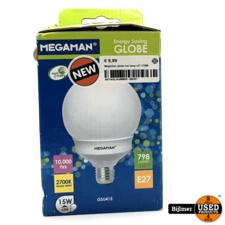 Megaman globe led lamp e27 2700K