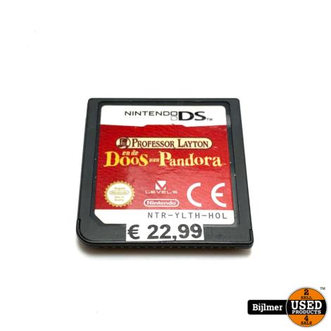 Nintendo DS Game: Professor Layton en de doos van pandora