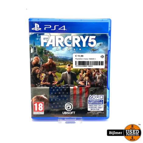 Playstation 4 Game: FARCRY 5