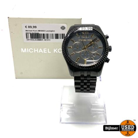 Michael Kors MK8603 Lexington Heren horloge