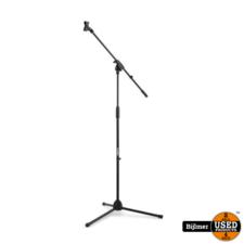 Vonyx MS10 Microphone Stand + Boom Black