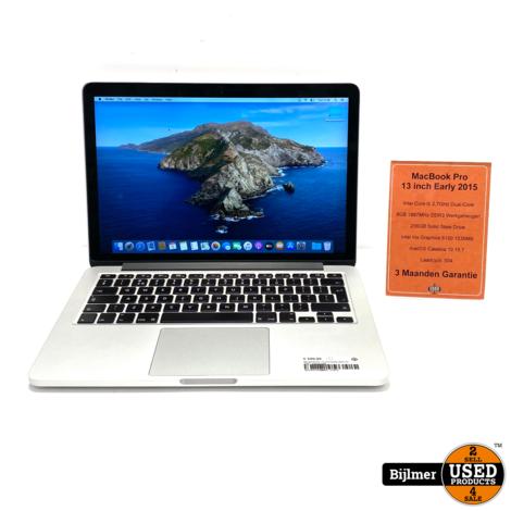 MacBook Pro 13 inch Early 2015   i5 - 8GB - 256GB SSD