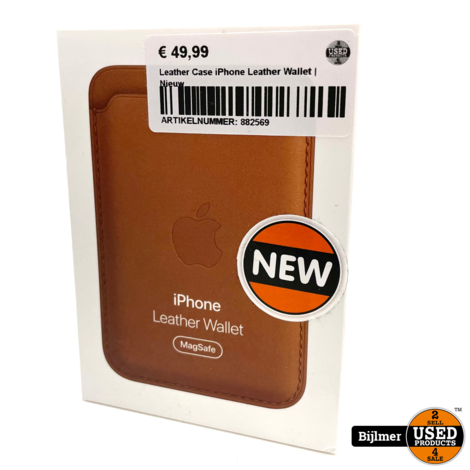 Leather Case iPhone Leather Wallet | Nieuw