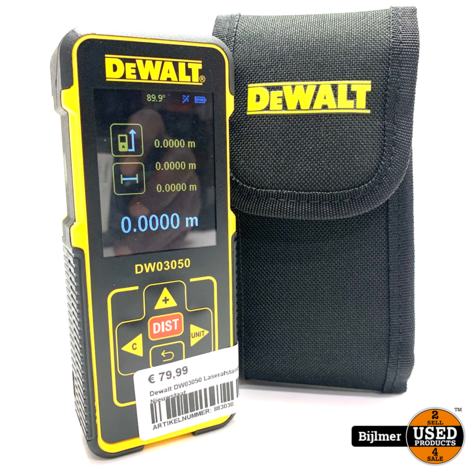 Dewalt DW03050 Laserafstandsmeter   Nieuwstaat