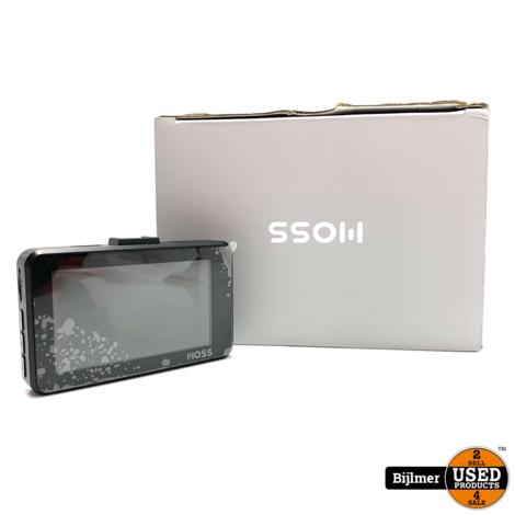 Moss Dashcam 3 Inch Full HD | Nieuwstaat