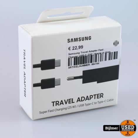 Samsung Travel Adapter Fast Charger USB-C 25W | Nieuw in doos