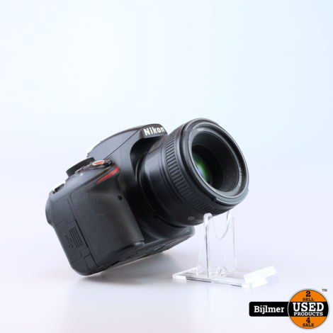 Nikon D3200 Camera Incl. AF-S Nikkor 50MM 1:18G Lens