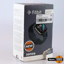 FitBit Sense Smartwatch Zwart   Nieuw uit doos