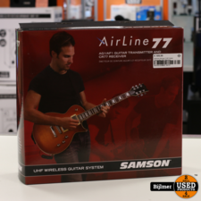 Samsom AirLine 77 AF1 Guitar Transmitter CR77 Receiver