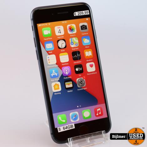 iPhone 8 64GB Black | Nieuwstaat