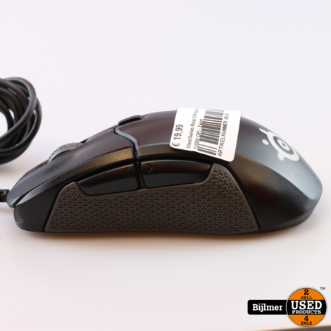SteelSeries Rival 310 Gaming Muis - 12000 DPI - Zwart