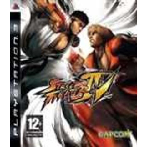 Playstation 3 Game Street Fighter IV