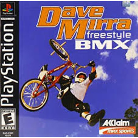 Dave Mira Freestyle BMX | PS1 Game