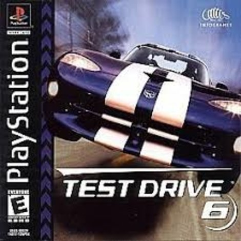 Test Drive 6|| Playstation 1 Game || PS1 Game