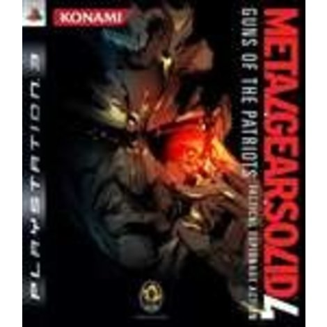 Metal Gear Solid 4 Guns Of The Patriots | PS3 Game