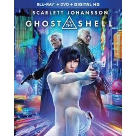 Ghost Shell Blu-Ray