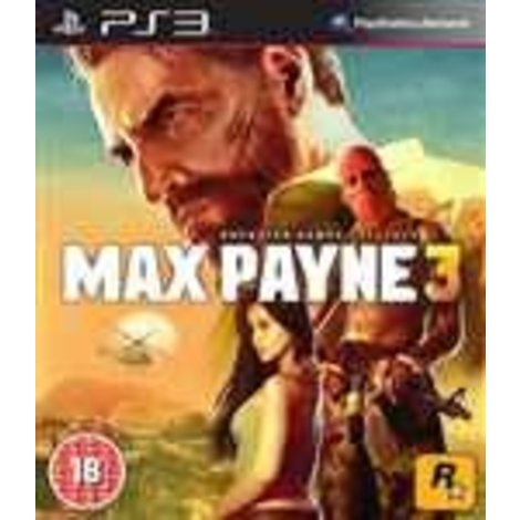 Max Payne 3 | PS3 Game