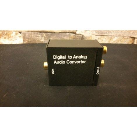 Digitaal naar Analoog Audio converter | Toslink naar analoog