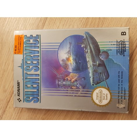 nes game silent service