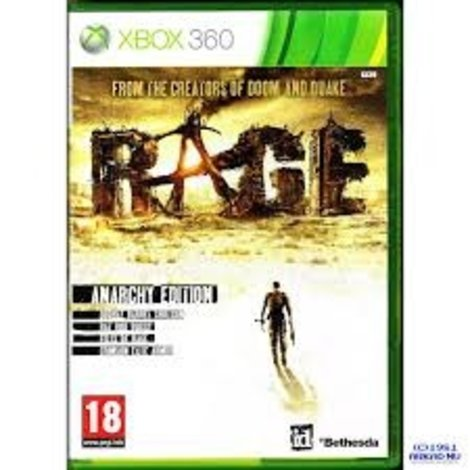 Rage Anarchy Edition xbox 360 game