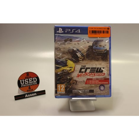 The Crew Wildrun edition PS4 game