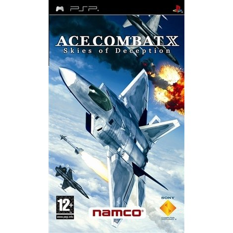 Ace Combat X Skies of Deception psp game