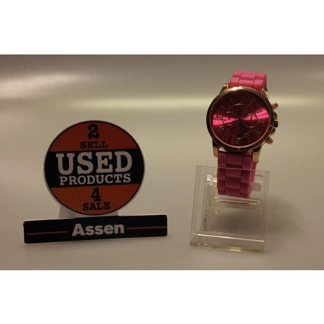 Mode trend horloge roze