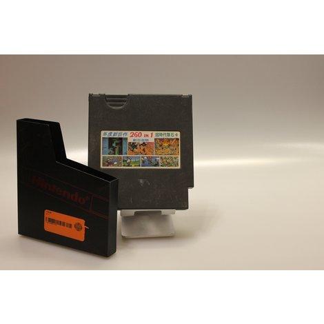 Nintendo NES| Gold series 260 in 1