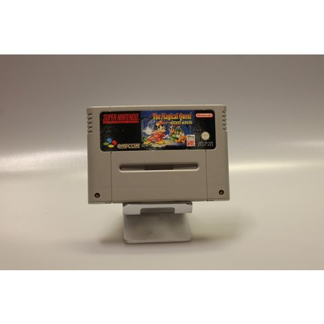 Super nintendo game the magical quest