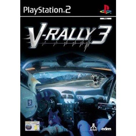 PS2 Game  V-Rally 3