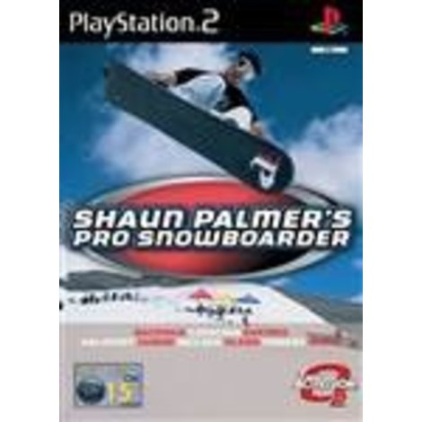 PS2 Game Shaun palmer's pro snowboarder
