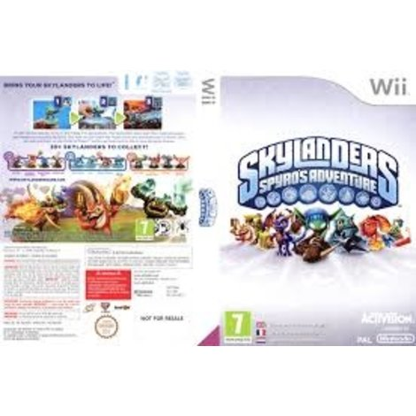 Skylanders Spyro's Adventure WII Game