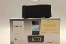 philips Philips AS130 Dockingstation met Bluetooth en lader + klok