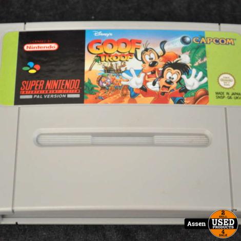 Goof Troop   SNES Game