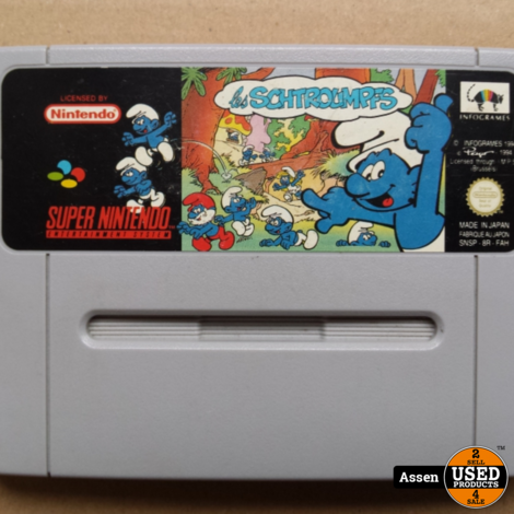 The Smurfs | SNES Game