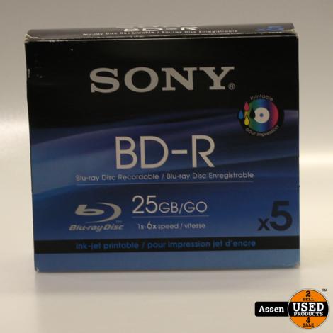 Sony BD-R CD'S    Nieuw