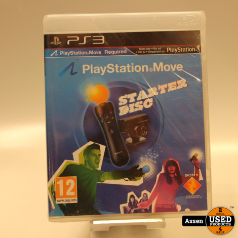Playstation 3 Move Starter Disc