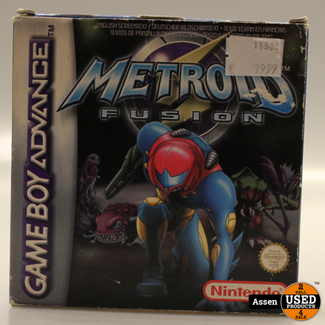 Metroid Fusion | GBA Game