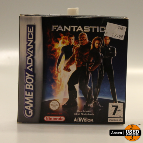 Fantastic Four | GBA Game