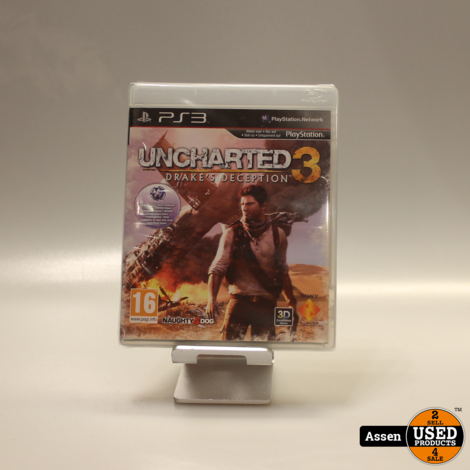 uncharted 3 drake's deception    playstation 3 game