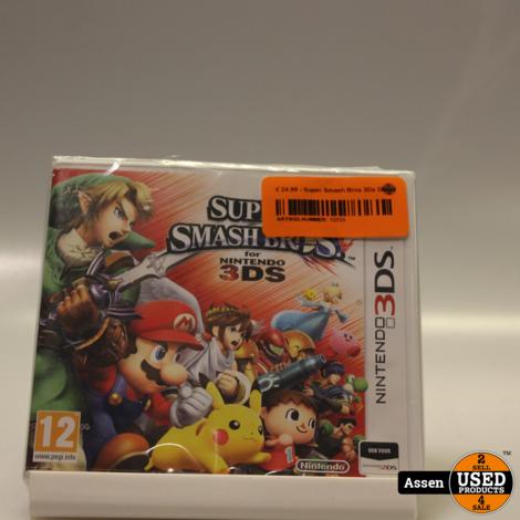 Super Smash Bros 3Ds Game