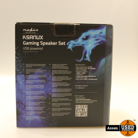 Gaming-luidsprekers || Nieuw