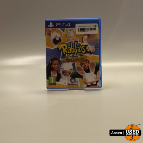 Rabbids invasion || Playstation 4 Game