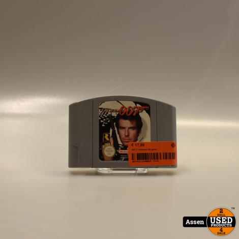007 ||  nintendo 64 game