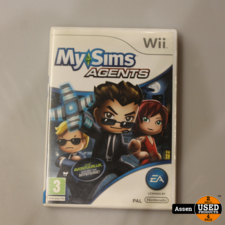 nintendo My Sims Agents Wii Game